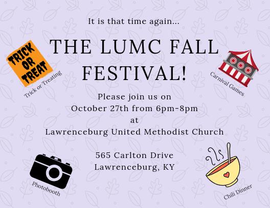 The LUMC Fall Festival!